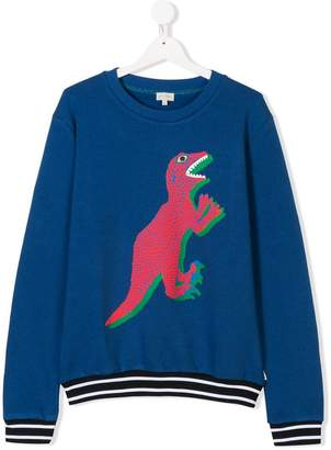 Paul Smith TEEN Dino print sweatshirt