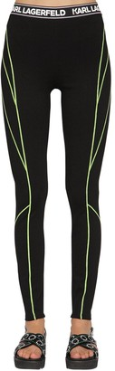 Karl Lagerfeld Paris NEON LIGHTS STRETCH VISCOSE LEGGINGS
