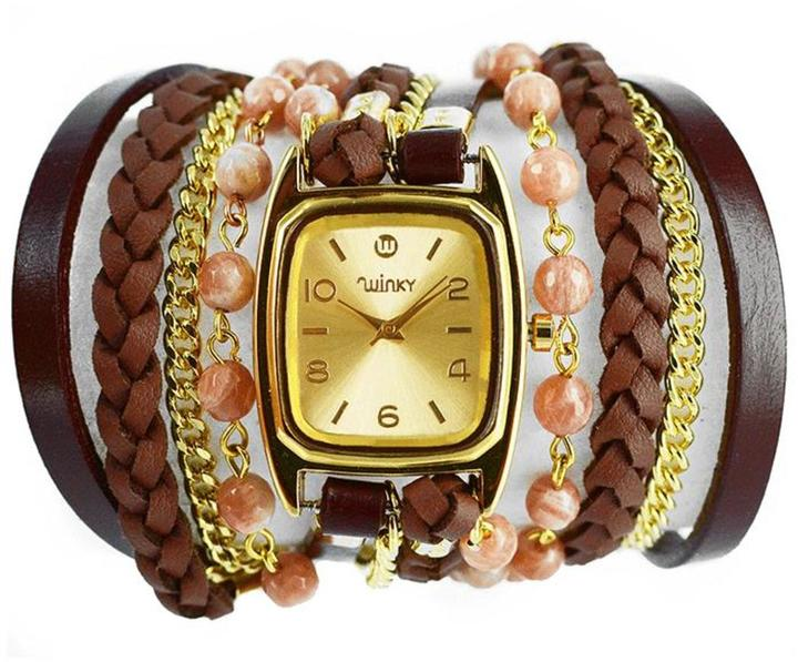 Winky Designs Sunstone Wrap Watch