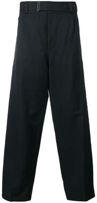 Etro loose fit stripe trousers