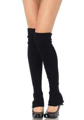 5038d858597 Leg Avenue Womens Ribbed Knit Leg Warmers