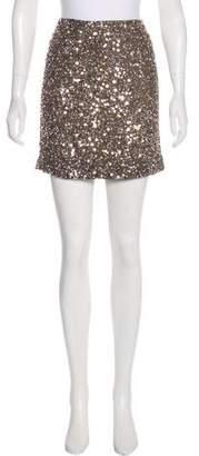 Vince Embellished Mini Skirt