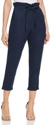 DKNY Paperbag-Waist Cropped Pants