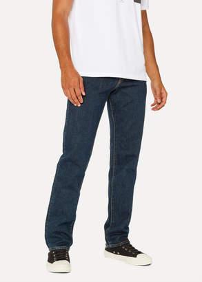 Paul Smith Men's Standard-Fit Dark Wash 'Left Hand Twill' Denim Jeans