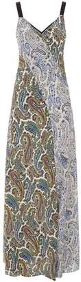 Diane von Furstenberg Paisley Maxi Dress
