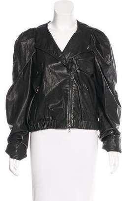Lanvin Leather Moto Jacket