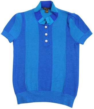 Louis Vuitton Blue Cashmere Knitwear