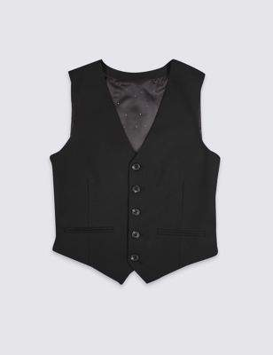 Marks and Spencer Waistcoat with Stretch (3-16 Years)