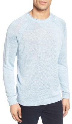 Men's Ted Baker London Lyndon Linen Blend Sweater $165 thestylecure.com