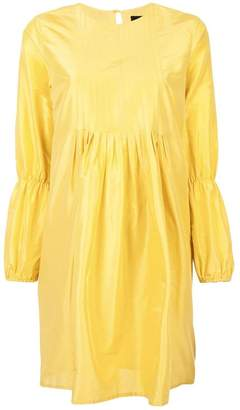 Cynthia Rowley ruffled sleeves dress