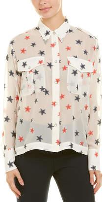 Rag & Bone Pearson Silk-Blend Shirt
