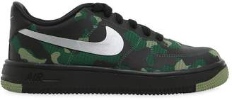Nike Air Force 1 Camo Printed Sneakers