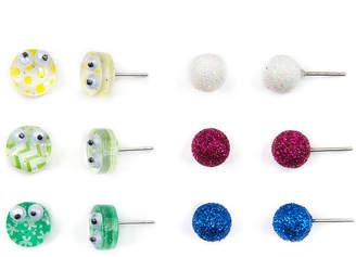 Carole 6 Pair Earring Set
