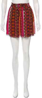 Maison Scotch Printed Mini Skirt w/ Tags