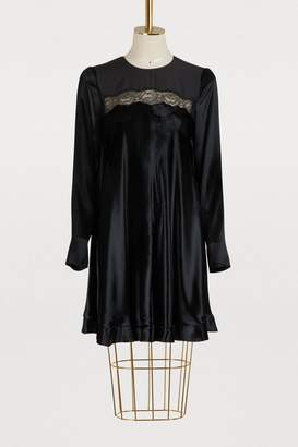 RED Valentino Velvet dress with laced details