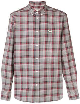 MAISON KITSUNÉ plaid shirt