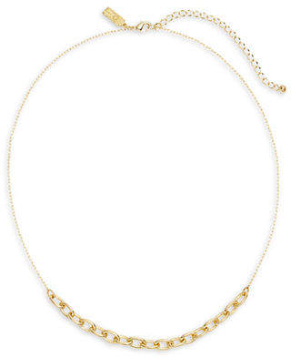 Kate Spade Chain Reaction Crystal Link Necklace