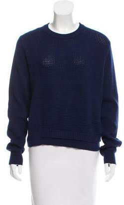 Proenza Schouler Crew Neck Silk & Cashmere-Blend Sweater