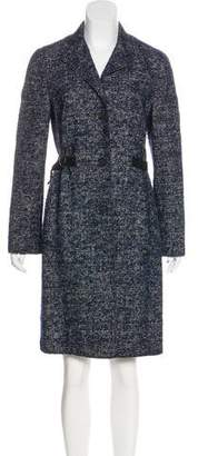 Akris Punto Wool & Alpaca Coat