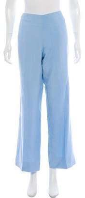 Ralph Lauren Black Label High-Rise Wide-Leg Pants