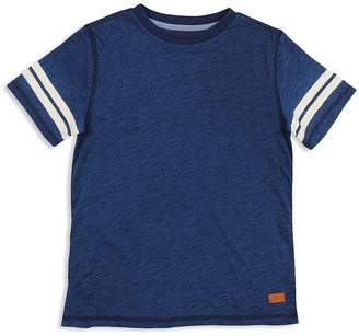 7 For All Mankind Boys' Tee with Striped Sleeves