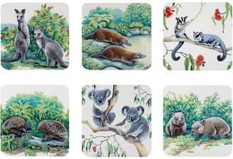 Maxwell & Williams Animals of Australia Coaster (Set of 6)