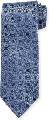 Charvet Vine Star Silk Tie