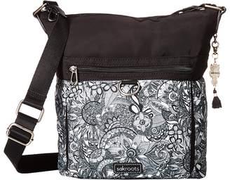 Sakroots Kilo Top Zip Crossbody Cross Body Handbags