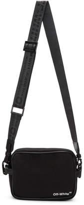 Off-White Black Logo Camera Bag