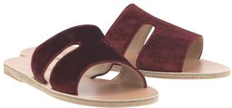 Ancient Greek Sandals Apteros green sandals
