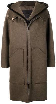 Max Mara Atelier loose fitted coat