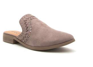 Qupid Tuxedo-114 Womens Loafers Slip-on Closed Toe