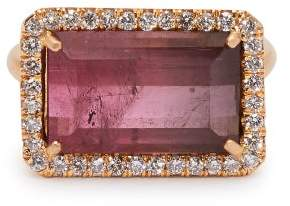 Irene Neuwirth 18kt Rose Gold, Pink Tourmaline & Diamond Ring - Womens - Pink