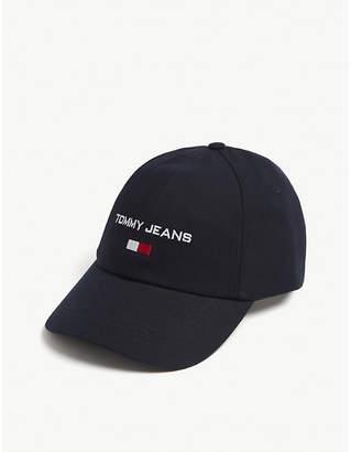 Tommy Jeans Logo cotton baseball cap