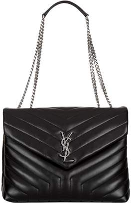 Saint Laurent Small Matelasse Loulou Shoulder Bag