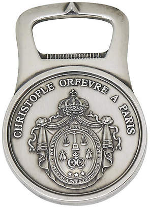 One Kings Lane Vintage Christofle Silver-Plate Bottle Opener - Rose Victoria