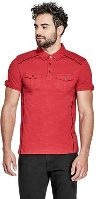 GUESS Factory Men's Arty Two-Pocket Polo