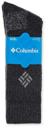 Columbia 4-pk. Mens Crew Socks - Extended Size