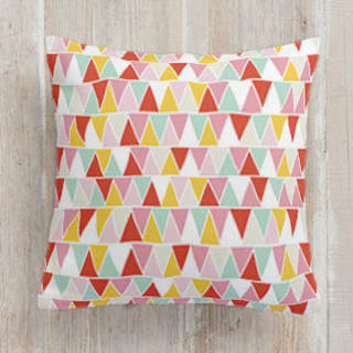 mini triangles Square Pillow
