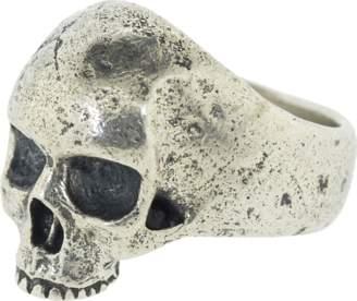 John Varvatos Silver Skull Ring