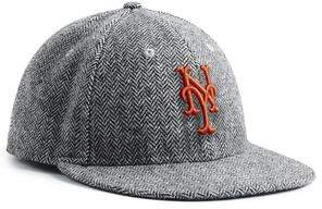 Todd Snyder + New Era Exclusive New Era NY Mets Hat In Abraham Moon Herringbone Lambswool