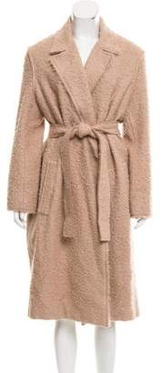 Helmut Lang Textured Alpaca Coat w/ Tags