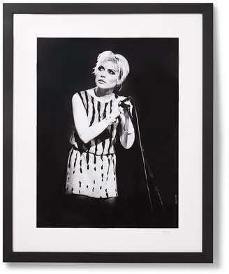 Sonic Editions Framed 1979 Debbie Harry In Manchester Print, 17 X 21