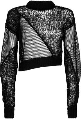 Siouxie Fishnet Sweater