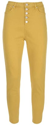 Mint Velvet Joliet Ochre Button Fly Jeans