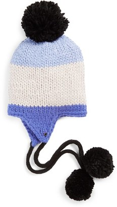 Women's Kate Spade New York Earflap Beanie - Blue $68 thestylecure.com