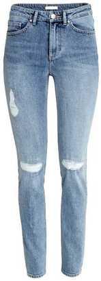 H&M Trashed Regular Jeans