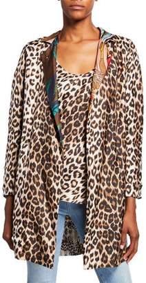e32496dcead La Prestic Ouiston Reversible Multi-Print Long Silk Jacket