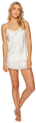 Lauren Ralph Lauren Satin Cami Top Pajama Set Women's Pajama Sets