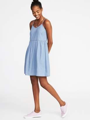 Old Navy Sleeveless V-Neck Swing Dress for Women